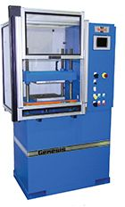 Genesis Model G28-12-PCR Proppant Crush Test Press, frac sand crush test press.
