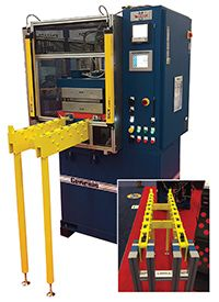 Wabash MPI has announced a new line of Carrier Consoles for fast and easy mold changeout applications.