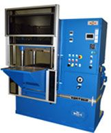 Vantage Series four-post laboratory press.